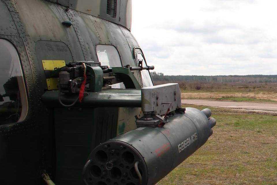 Проводятся испытания Ми-2МСБ с пулеметом и НАРами