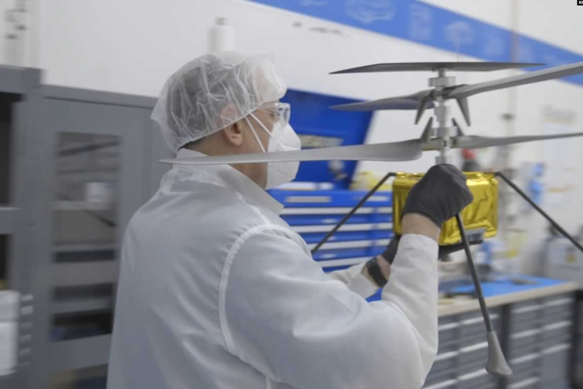 Как украинец стал одним из разработчиков марсианского дрона Ingenuity