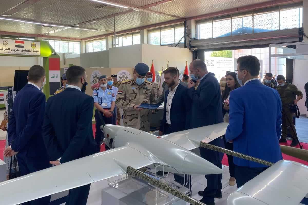 Ираку показали украинский БПЛА Raybird-3