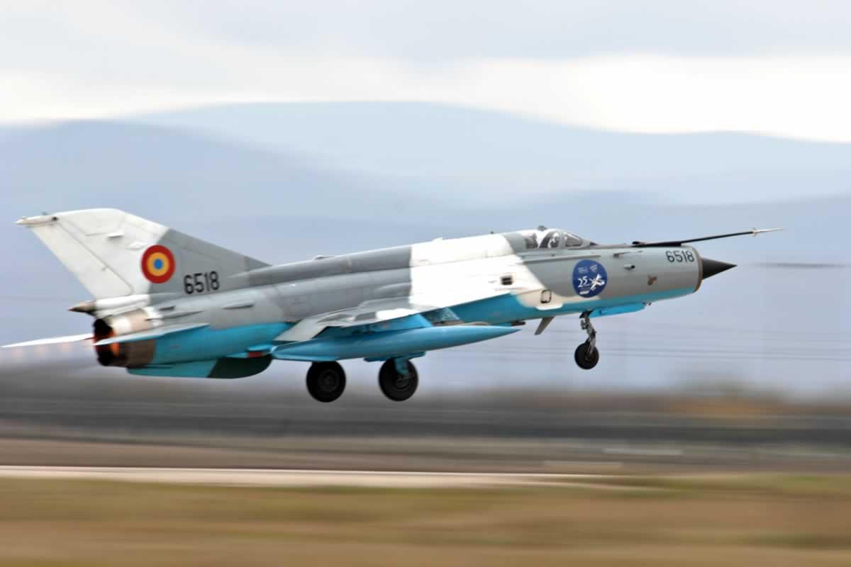 МиГ-21 LanceR разбился в Румынии