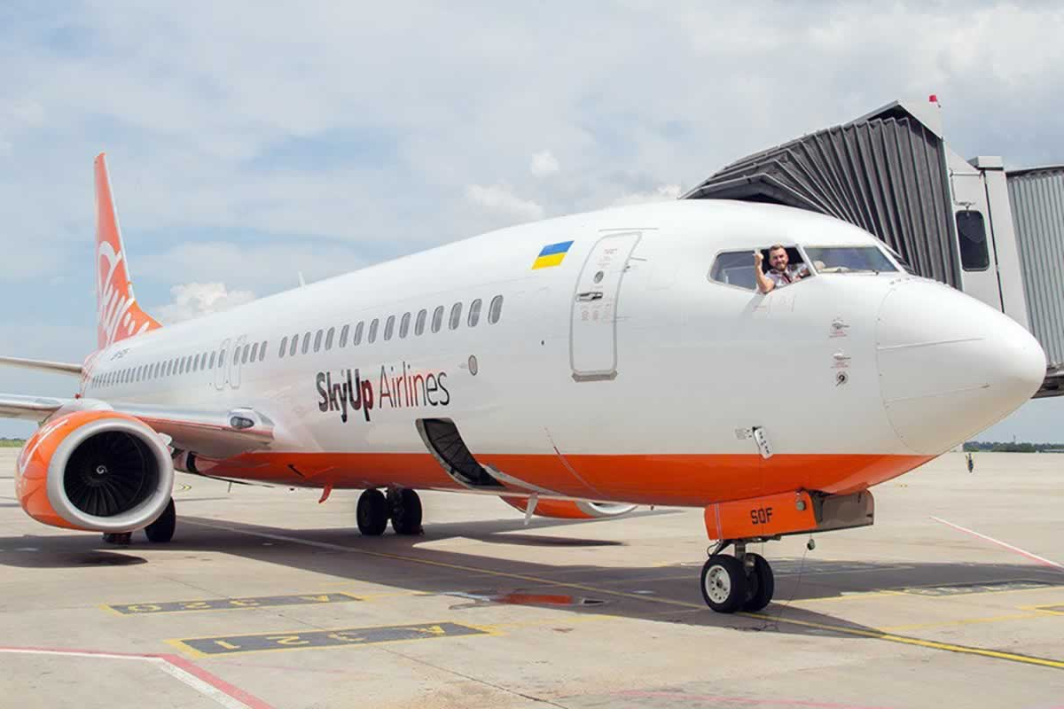 SkyUp начала начал масштабную полетную программу в Ларнаку