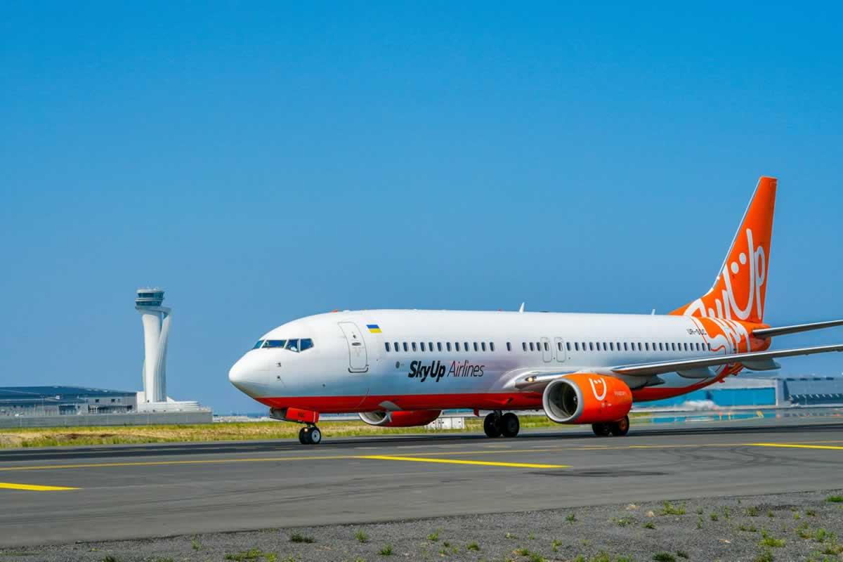 SkyUp Airlines в мае начинает полеты из Киева в Измир