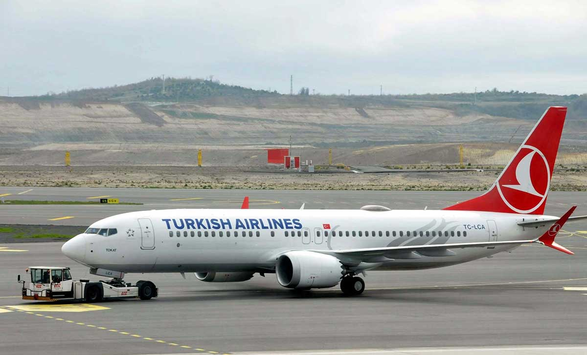 Turkish Airlines возобновила полеты 737 MAX