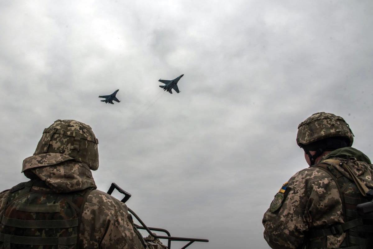 Масштабные учения состоялись в Воздушных Силах