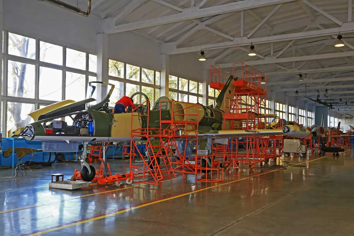 Одесский авиационный завод получил разрешение на экспорт своей военной продукции