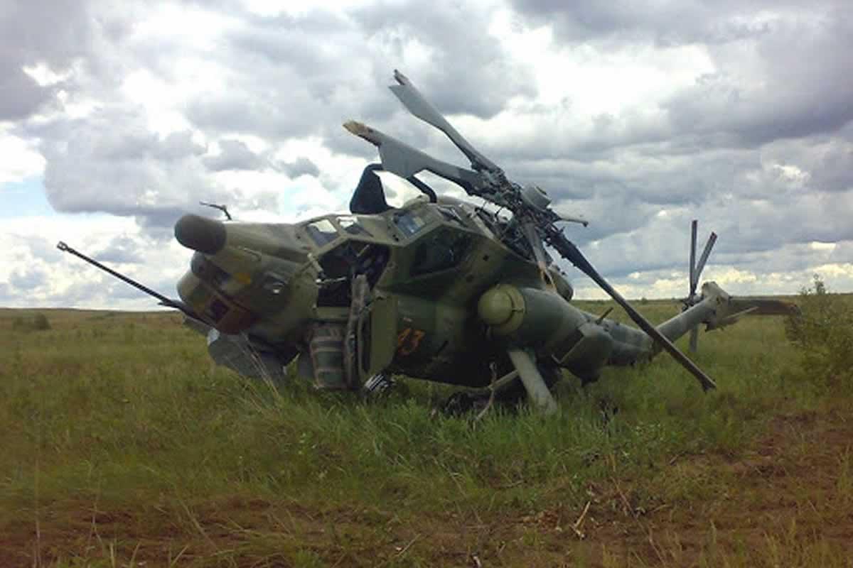 Заказы на российские вертолеты падают