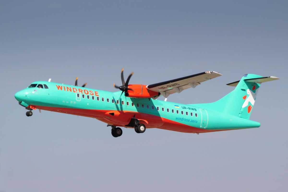 Windrose в июне запускает рейсы из Киева в Ужгород, Черновцы и Кривой Рог