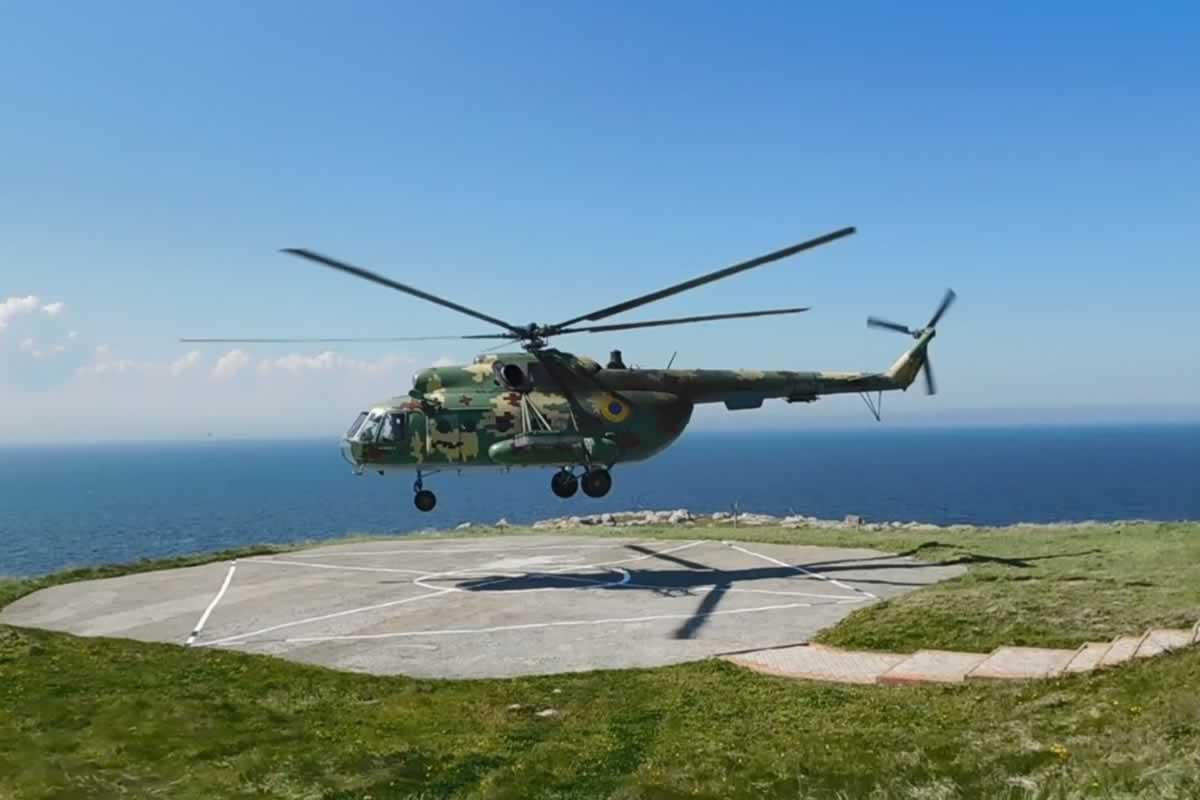 ВМС ВС Украины провели совместные тренировки по обороне побережья при участии авиации