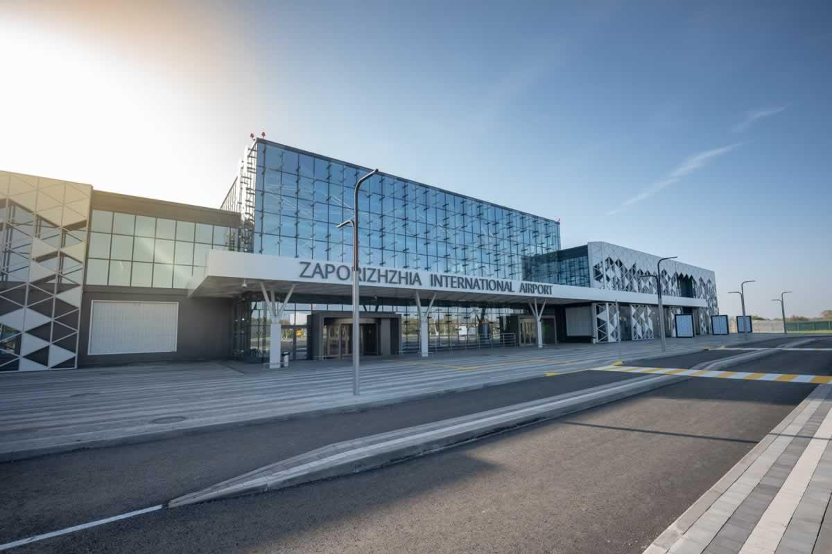 Аэропорт Запорожье работает в штатном режиме