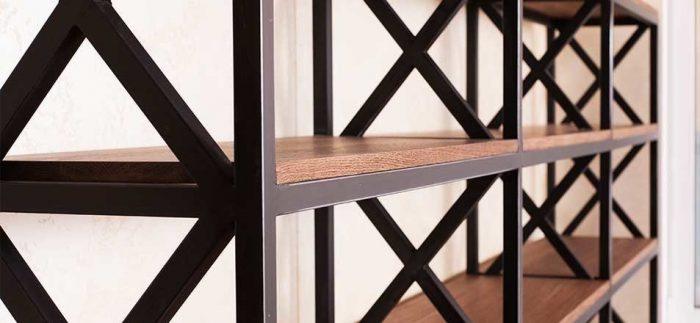 Качественная мебель из дерева и металла на заказ в Москве
