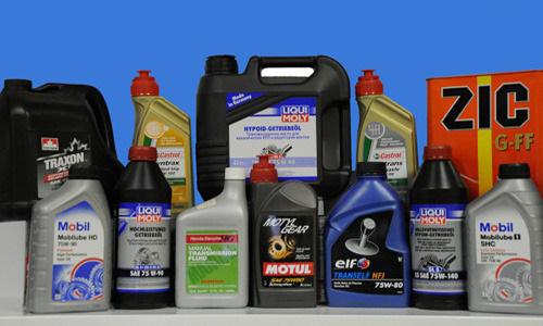 Ассортимент масла для дизельных моторов