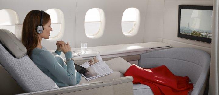 Авіакомпанія Air France показала оновлений перший клас (фото)